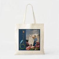 Saint Luis, Llama & Logo Tote Bag