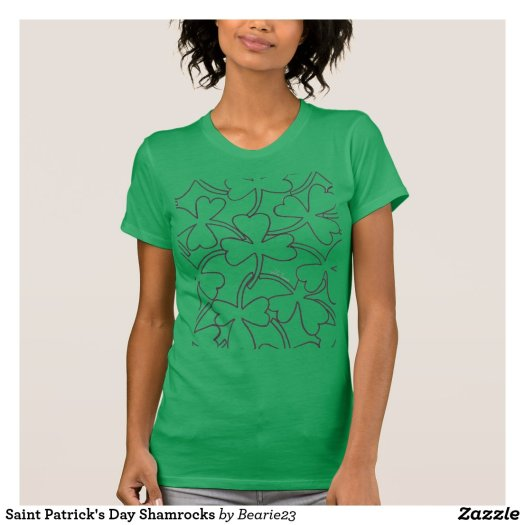Saint Patrick's Day Shamrocks T-Shirt
