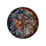 Salimander Round Clock