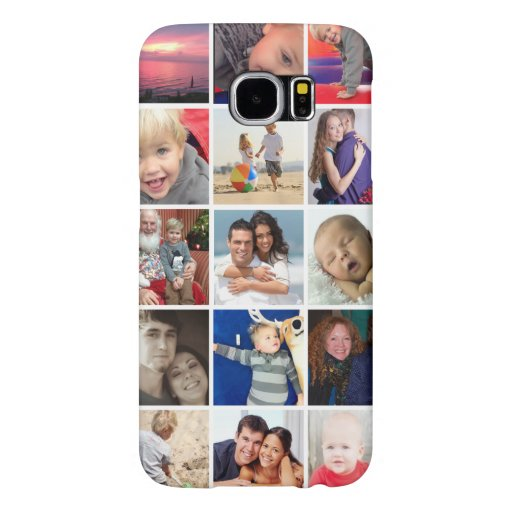 Samsung Galaxy S6 Instagram photo collage case Samsung Galaxy S6 Cases