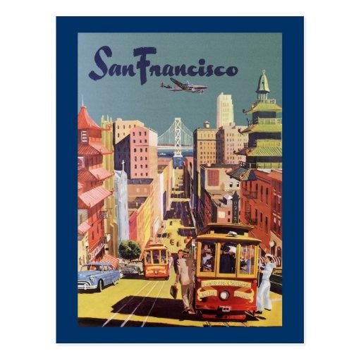 San Francisco Postcard Zazzle