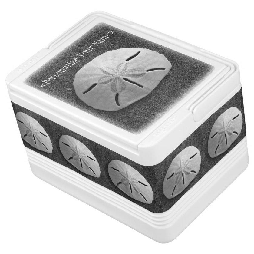Sand Dollar Seashell Beach Custom Igloo Cooler