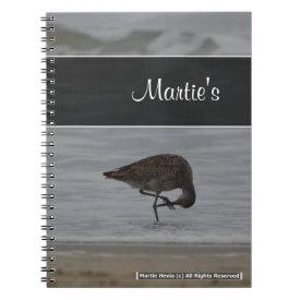 Sandpiper Bows Notebook