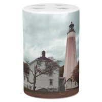 Sandy Hook Lighthouse Bath Set | Zazzle