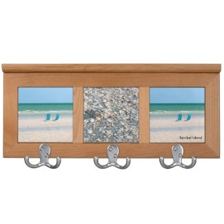 Sanibel Island Coat Rack