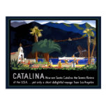 Santa Catalina California Postcard
