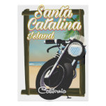 Santa Catalina Island , California USA Poster