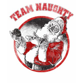 Santa Claus - Team Naughty shirt