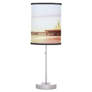 Santa Monica Pier Sunrise Lamps