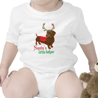 santas little helper shirt