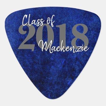 Sapphire Graduation | Blue Class of 2018 Party Guitar Pick