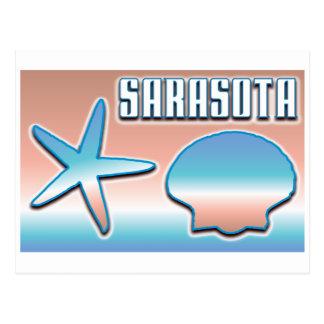 Sarasota Shells Postcard