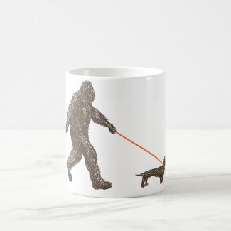 Sasquatch's Best Friend Coffee Mug
