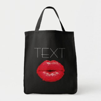 Sassy Lips Jumbo Tote bag