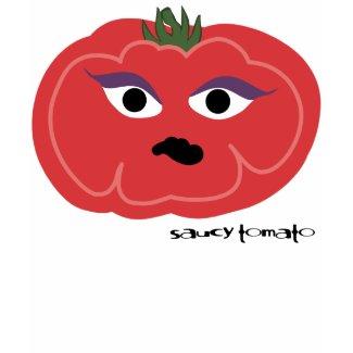 saucy tomato shirt