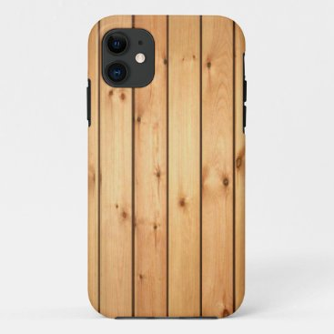 Sauna Wood Panels iPhone 11 Case