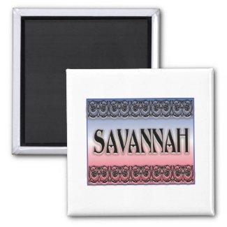 Savannah Scrollwork Magnet