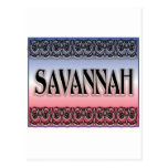 Savannah Scrollwork postcards