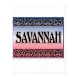 Savannah Scrollwork postcards
