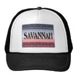 Savannah Scrollwork hats