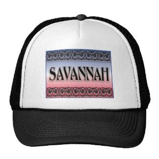 Savannah Scrollwork Trucker Hats