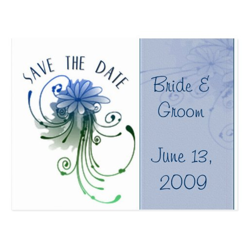 Create Your Own Save Date Postcard