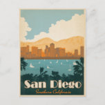 Save the Date | San Diego, CA Announcement Postcard