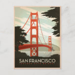 Save the Date | San Francisco, CA - Golden Gate 2 Announcement Postcard