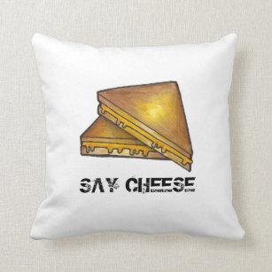 Cheddar Pillows  Decorative  Throw Pillows  Zazzle