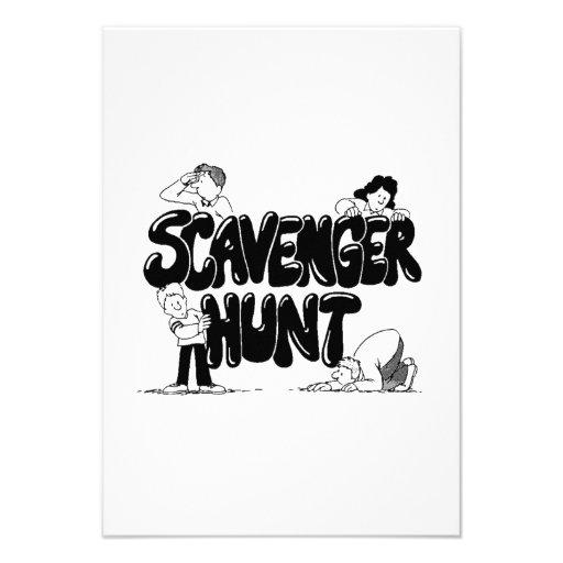 Scavenger Hunt Custom Announcements