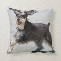 Schnauzer Pillows - Decorative & Throw Pillows | Zazzle