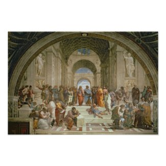 School of Athens, from the Stanza della Print