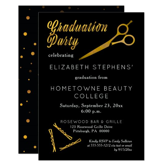 Standard Graduation Invitations