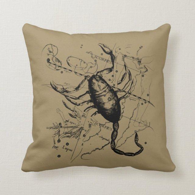 Scorpio Constellation Hevelius 1690 Classic Throw Pillow