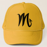 Scorpio yellow gold hat