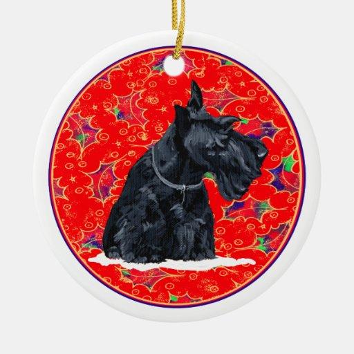 scottie dog christmas decor - Scottie Dog Christmas Decorations