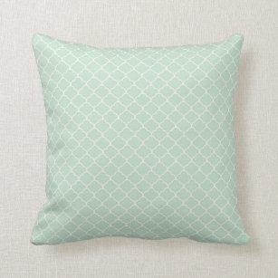 Seafoam Green Pillows  Decorative  Throw Pillows  Zazzle
