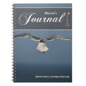 Seagull Leaves Journal Spiral Notebooks
