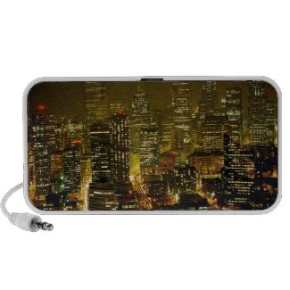 Seattle city view portable speaker