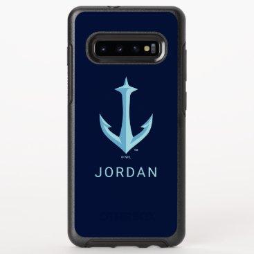 Seattle Kraken Anchor Logo OtterBox Symmetry Samsung Galaxy S10  Case