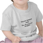 Secure AmericA POP The Bureaucrat BUBBLE t-shirts