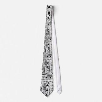 Senior 2011 - Black - Tie tie