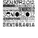 Senior 2012 Apparel (Black) zazzle_shirt
