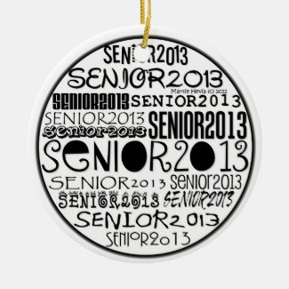Senior 2013 - Rearview Mirror Ornament