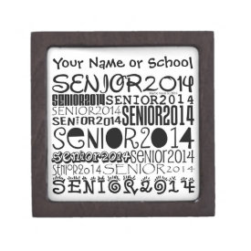 Senior 2014 Magnetic Lid Box (Personalize)