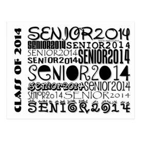 Senior 2014 - Postcard