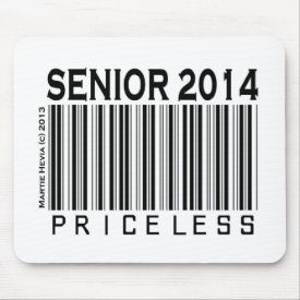 Senior 2014: Priceless - Mousepad