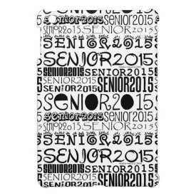 Senior 2015 iPad Mini Case