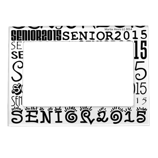 Senior 2015 Magnetic Frame