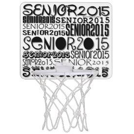 Senior 2015 Mini Basketball Hoop